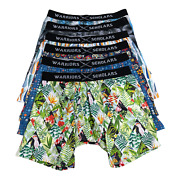 Warriors And Scholars Menand039s Boxer Briefs 6 Set Multi Pack No Ride Up Underwear L