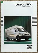 Iveco Ford Turbo Daily Commercial Sales Brochure 1992 Br5b/92