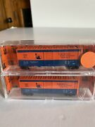 Deluxe Innovations N Train 2-pack 1944 Aar 40andrsquo Boxcar Northeast 2000 Edison Nj
