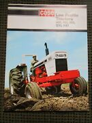 Original Brochure For The Case 885, 990, 995, 1210 And 1410 Tractors, Very Nice