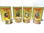 1995 Enesco The Wizard Of Oz Action Music Box Dorothy Lion Tin Man And Scarecrow