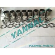 Free Shipping Ef750 Cylinder Liner Kit For Hino Engine