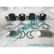 New D934 D934l Rebuild Kit With Piston Ring Bearing For Liebherr