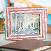 Modern Marble Photo Storage Frame Mop Inlaid Mosaic Decorative Gift For Her Deco