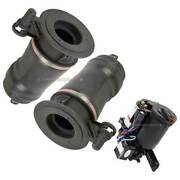 Rear Suspension Air Spring W/ Compressor For Ford Expedition Pair Arnott