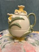 Rare Dept 56 Daffodil Tea For One Time To Celebrate