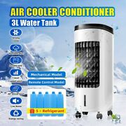 3l Portable Mini Air Cooler Cooling Conditioner Fan Evaporative Humidifier New