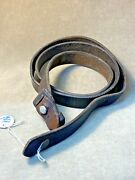 Original Mauser Yugo Sling W/ Keeper And Stud Bk For M24m48 And K98 German Stock.