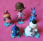 Disney Doc Mcstuffins Squeakers Chilly Stuffy Hallie Puzzle Figures Cake Topper