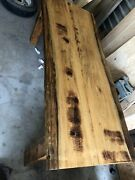 Real Old Growth Ancient Sinker Cypress Plank Desk Or Harvest Table Louisiana