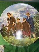 Knowles Sound Of Music Plates Complete Set Of Eight With Hangers 1986-87