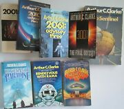 Arthur C. Clarke Collection Of 8 Novels With Hugo Winners, 2001 Space Odyssey