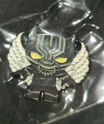 Peccy Pin Black Panther Angel Limited Quantity Made New.