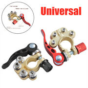 1pair Of Car Suv Truck Battery Terminal Disconnect Positive Negative Switch Link