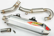 Pro Circuit T-6 Stainless System W/spark Arrestor, 0151745g
