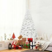 Artificial Christmas Tree Green White Xmas Tree Home Decorations 5ft-7ft