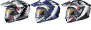 Scorpion Exo-at950 Outrigger Helmet W/electric Shield