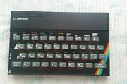 Sinclair Zx Spectrum 48k Computer Console Only For Parts And Repair