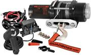 Quad Boss Rp35ws Winch With Dyneema Rope 3500lb