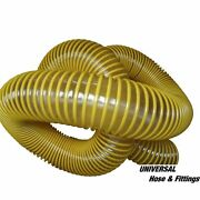 8 Inch Leaf Vacuum Hose Urethane Lawn Vac. 8 X 25and039 Grass 8in Yellow