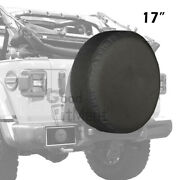Waterproof Pvc Leather Spare Tire Tyre Cover 17 Inch Xl Size For Jeep Wrangler