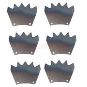6x Manure Spreader Paddle Fit For Nh 145 155 165 185 213 514 518 519 New Holland