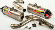 New Pro Circuit 0311625f2 T-6 Dual Stainless System Withp