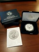 2019 S American Eagle One Ounce Silver Enhanced Reverse Proof Coin - S