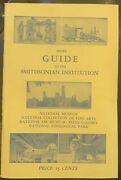 Brief Guide To The Smithsonian Institution 1954 Edition National Museum Vg+ Cond
