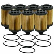 Wix Set Of 7 Engine Motor Oil Filters For Jeep Ram 3.0l Tdi
