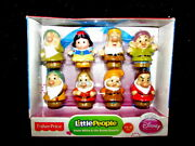 New Fisher Price Little People Disney Snow White And The Seven Dwarfs 2013