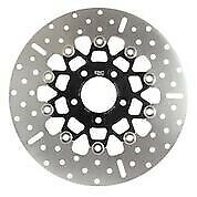 10 Button Floater Wide Band Brake Rotor - Rsd019blk