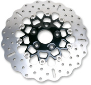 10 Button Floater Contour Wide Band Brake Rotor - Rsd017cblk