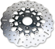 10 Button Floater Contour Wide Band Brake Rotor - Rsd018cblk