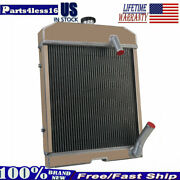 Nca8005 Tractor Radiator Fit Ford New Holland 501 600 601 700 701 800 801 901 Pl