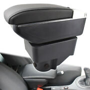 Armrest Parts For Ford Fiesta 2011-2019 Console Storage Box Arm Rest Cup Holder