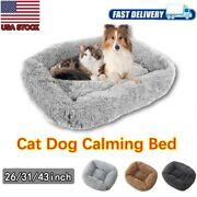 Soft And Fluffy Pet Bed Large Warm Dog Cat Puppy Sleeping Mat Cushion Cozy Nest