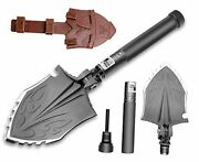 Survival Camping Shovel Folding Tactical Gear Military,24 In 1