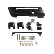 Black Tour Pack Pak Hinges Latch For Harley Touring Street Glide Road King And03914+