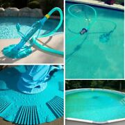 Automatic Swimming Pool Vacuum Cleaner Complete Set Inground Above Ground