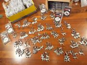 Huge Lot Of 212 New Dog Keychain Key Chain Chains Pewter George Harris Poodle