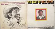 Willie Nelson. Bill Cosby  2 Oldies Lps.    Lp  Pre Owned