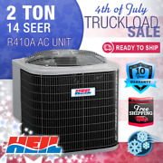 2 Ton 14 Seer Heil Home Cooling Air Conditioner Condenser Unit - R410a