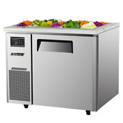 Turbo Air Jbt-36-n 36 Refrigerated Buffet Display Table Stainless With Casters