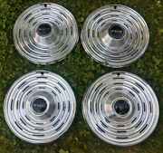 1969 Pontiac Bonneville Catalina Wheel Cover 4 Very Nice Used 15 Inch Stainless