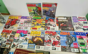 14 Issues Cycle World Motorcycle Motorbike Magazines Vintage 1990's Lot