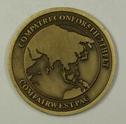 Us Navy Comfairwestpac Challenge Coin Presented By Rear Admiral A.j. Johnson19