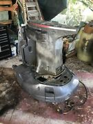 2002 Yamaha 200hp Hpdi Series Vz200tlra 25 Mid Section With Clean Steering Arm