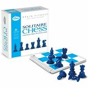 Thinkfun Brain Fitness Solitaire Chess - Fun Version Of Chess You Can Play