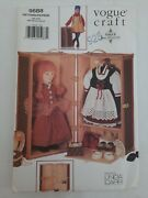 1997 Vogue Doll Collection Pattern 9688 Linda Carr Trunk For 18 Doll And Clothes
